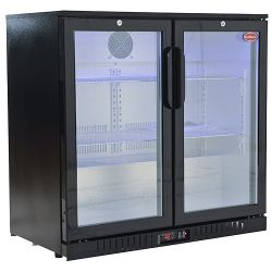 Double Door Cooler 220L